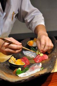 sushi chef parisien